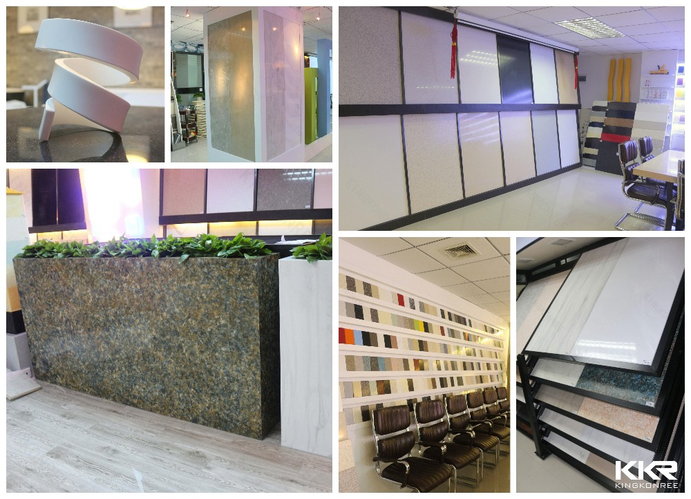 Solid Surface Wall Cladding : Decorative stone wall panel acrylic solid surface