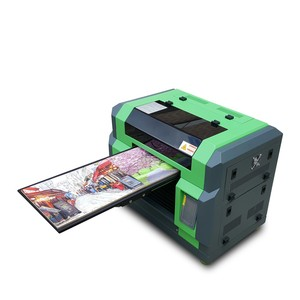 Stable A3 LED 8 color with rotary attachment digital UV flatbed printer with DX5 print head