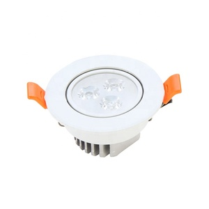 High Power Led Ceiling Light Smd Recessed 3w Round Housing Ceiling Light