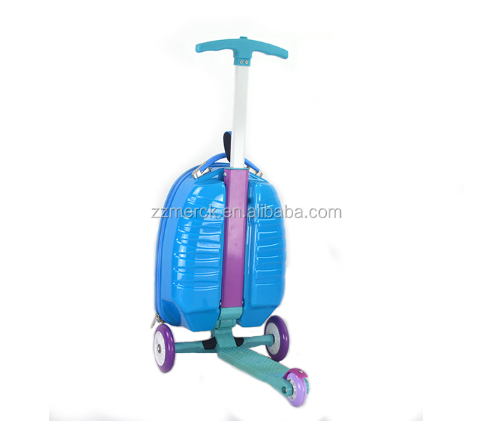 Scooter Luggage Roll Rolling Roller Carry On Suitcase