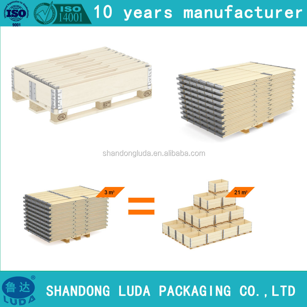 wooden box for induetiral packing