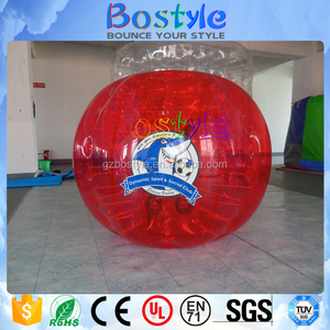 New product sumo plastic bumper ball inflatable bubble ball suit for fun