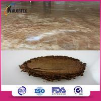 Anti-static epoxy floor coating pigment for metallic floor