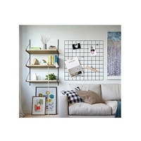 Metal Wire Mesh Grid Panel/Mesh Memo Board Wall