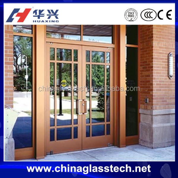 one way glass door