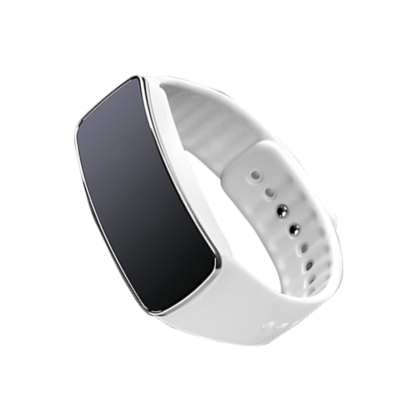 Digital Wrist Watch Bluetooth Smart Watch Sports Fitness Tracker Waterproof Fitness Band w/ Pedometer Sleep Monitor Function (Black)
