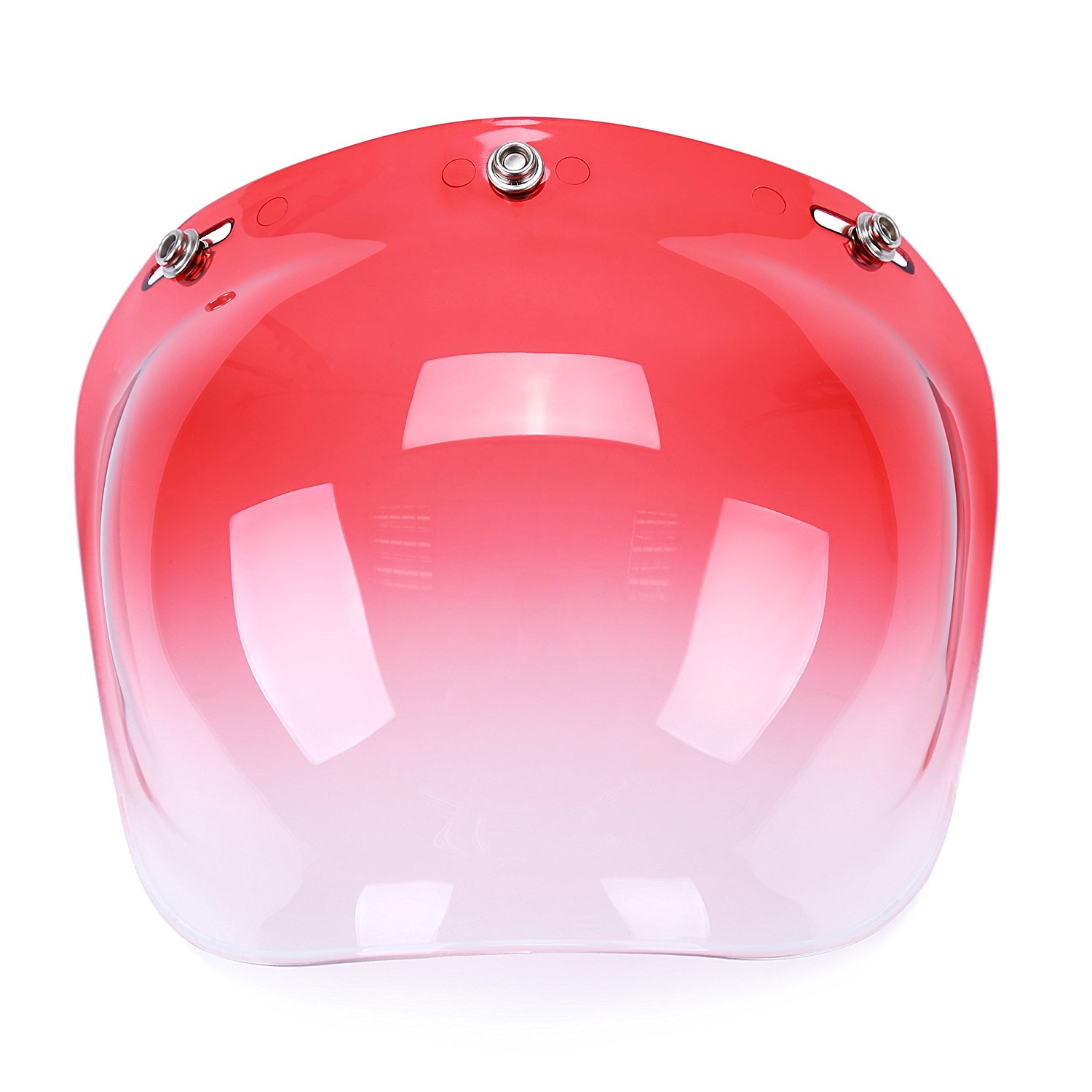 682a9e82 Get Quotations · Professional Motorcycle Helmet Bubble Visor Helmet Shield  Glass Fits All Kinds of Jet Helmet (Pink
