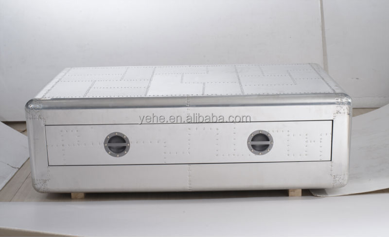 Richards trunk table,aluminum coffee table - Richards Trunk Table,Aluminum Coffee Table - Buy Aluminum Coffee