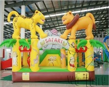 0.55mm PVC kids inflatable bouncy castle, commercial inflatable bouncer
