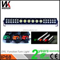 Waterproof 12 volt 24 volt 20inch 132w Truck Jeep 4x4 Car Hybird Cheap Led Emergency Light Bar