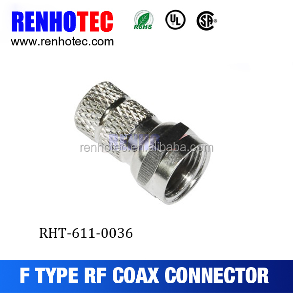 [Factory Price] Various Hotsell Compression f Connectors for RG-6 Coaxial Cable