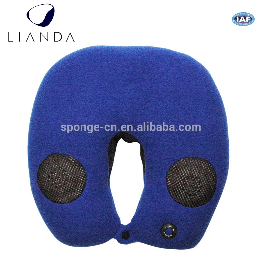 New Invented Waterproof Wireless Car Memory Foam Travel Bluetooth Animal  Music Neck Pillow With Speaker