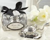 Teapot Tea Infuser Bridal Shower Favor and Wedding Kitchen Gifts