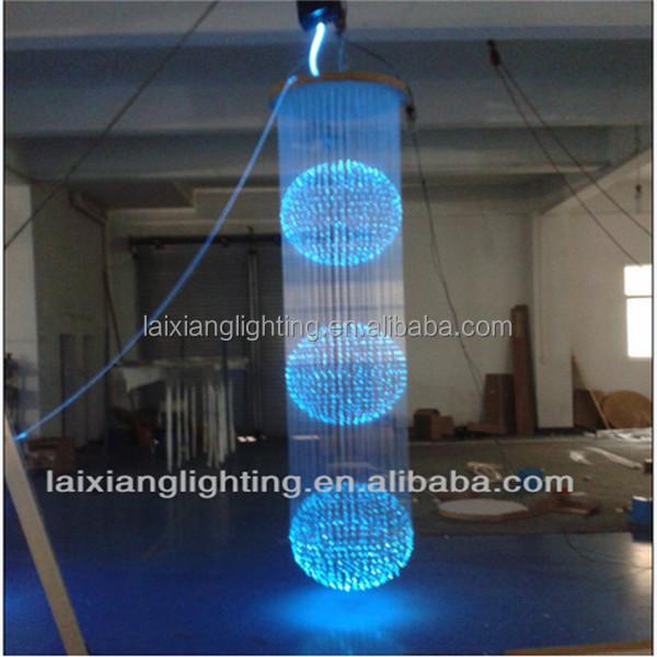 Flexible Plastic Optical Fiber Led Lights Restaurant Hanging ...