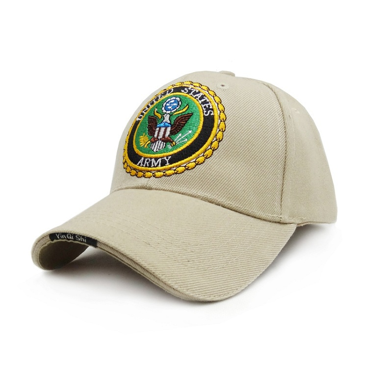 56d0e1705b4 Get Quotations · Casual Outdoor US Army Military Baseball Caps Men Tactical  Airborne Visors Sun Travel Snapback Hat Hiking