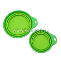 2016 Hot Portable Collapsible Silicone Pet Bowls Dog Bowls/dog feederFS021