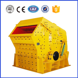 High efficiency double rotor impact crusher for sale
