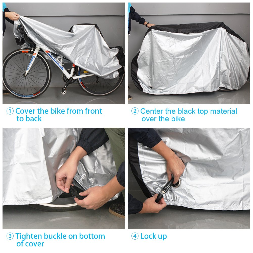 Hot-sale Polyester Custom Waterproof Bicycle seat Cover