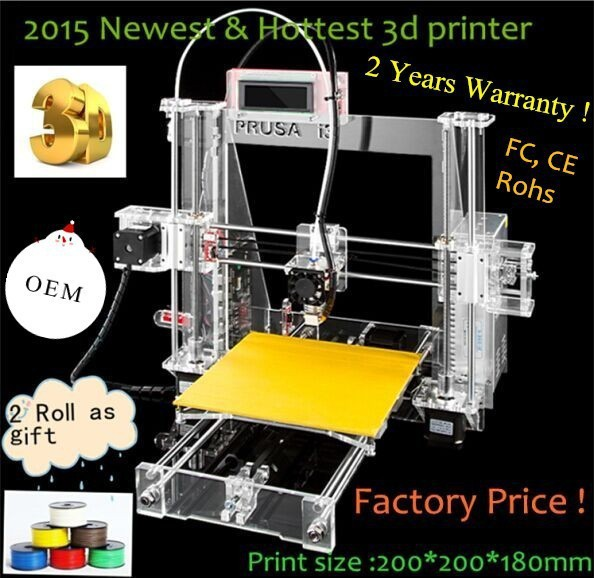 2015 new product low price new technology 3d printer china