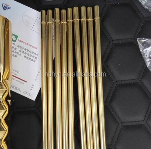 stainless steel bent straw, Gold planted Drinking Straw for Beer, vodka/Beer Wine/cups/mugs