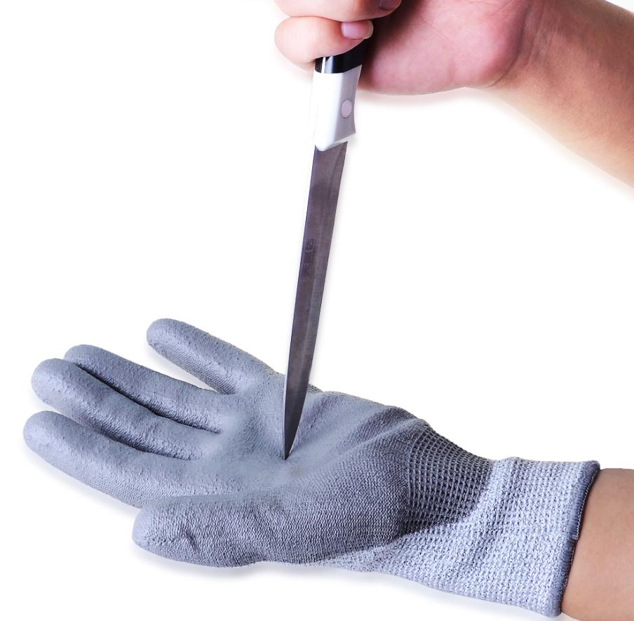 Level 5 En388 Safety Gloves Cut Resistant Work Gloves