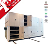 High capacity office Mobile System Filing Cabinet / Metal whole sealing compact Mobile File Cabinet