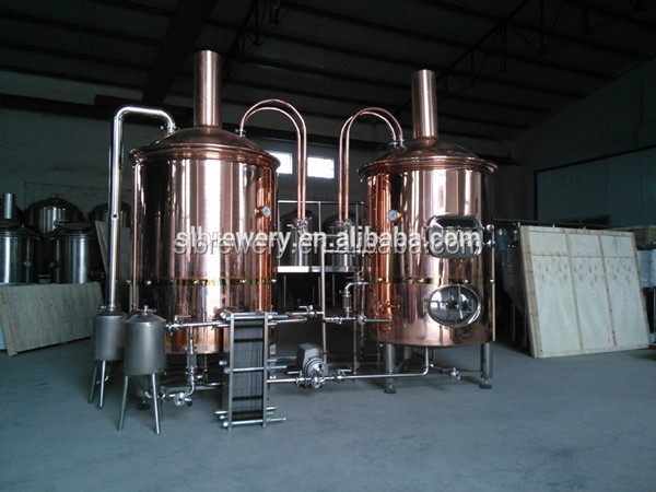 turkey project stainless steel or red copper micro brewery equipment 3bbl beer making machine