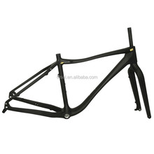 Newest Toray Carbon Fat Bike Frame Chinese OEM Carbon Fat Snow Bike Frame Sand Bike Frame