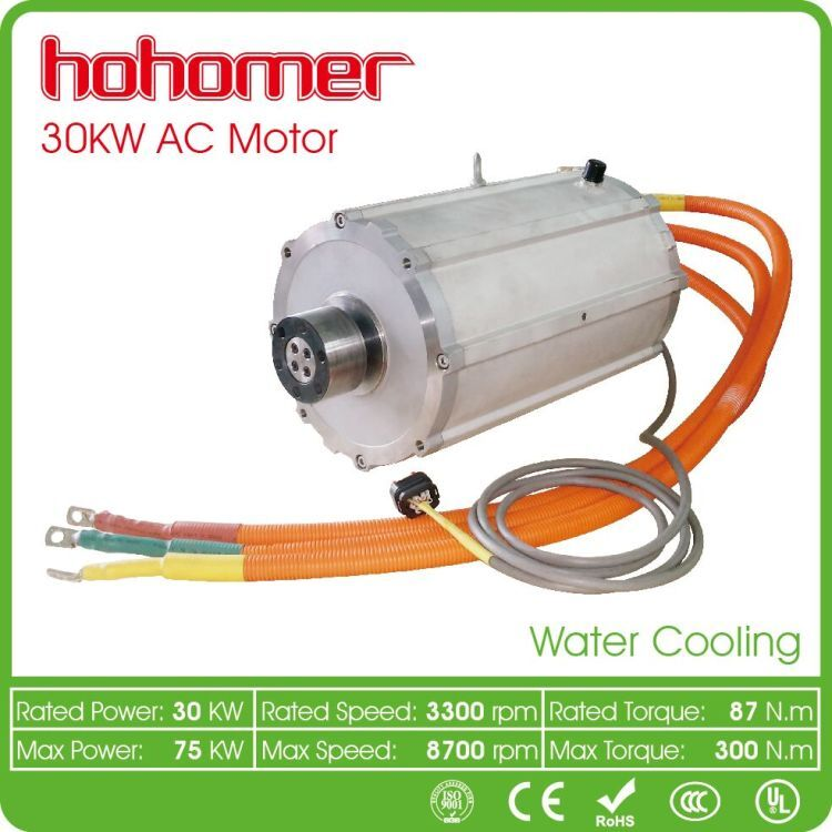 30kw strong efficiency induction AC motor