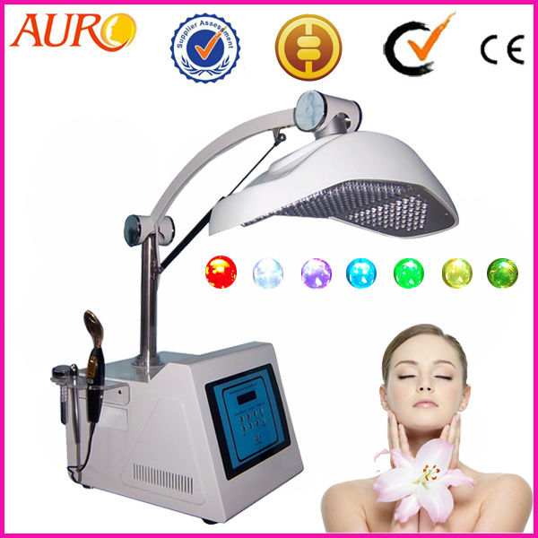 AU-2 4 in 1 LED PDT lamp LED phototherapy 7 color light LED PDT collagen red light therapy