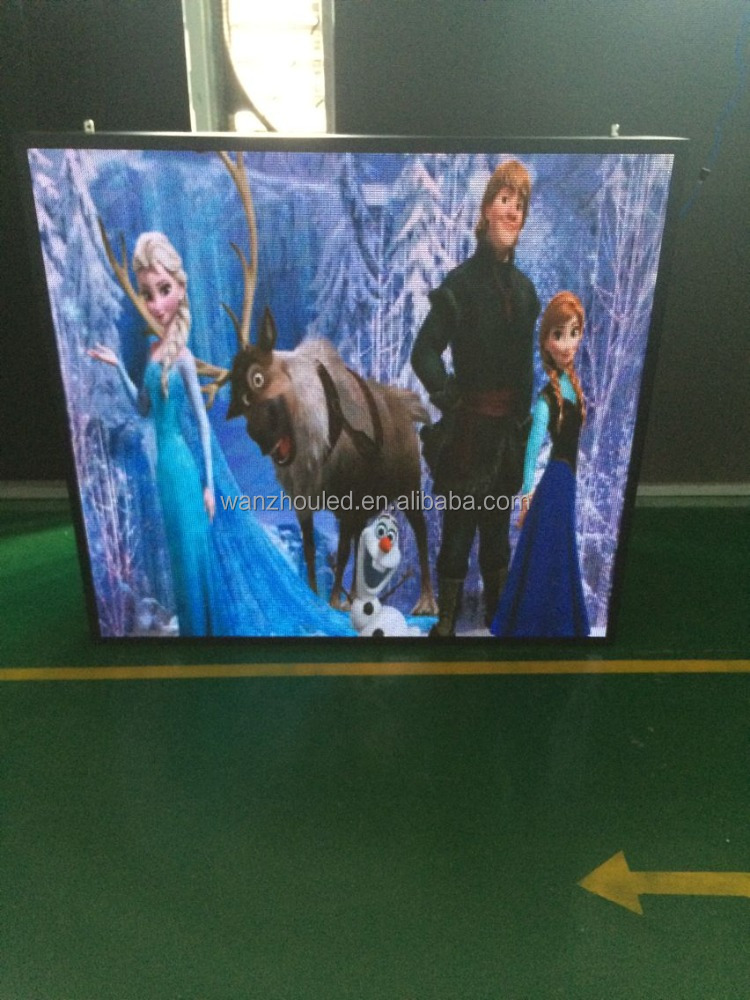 Hot selling P5 DIP outdoor led RGB display panel for Advertising Car Roof