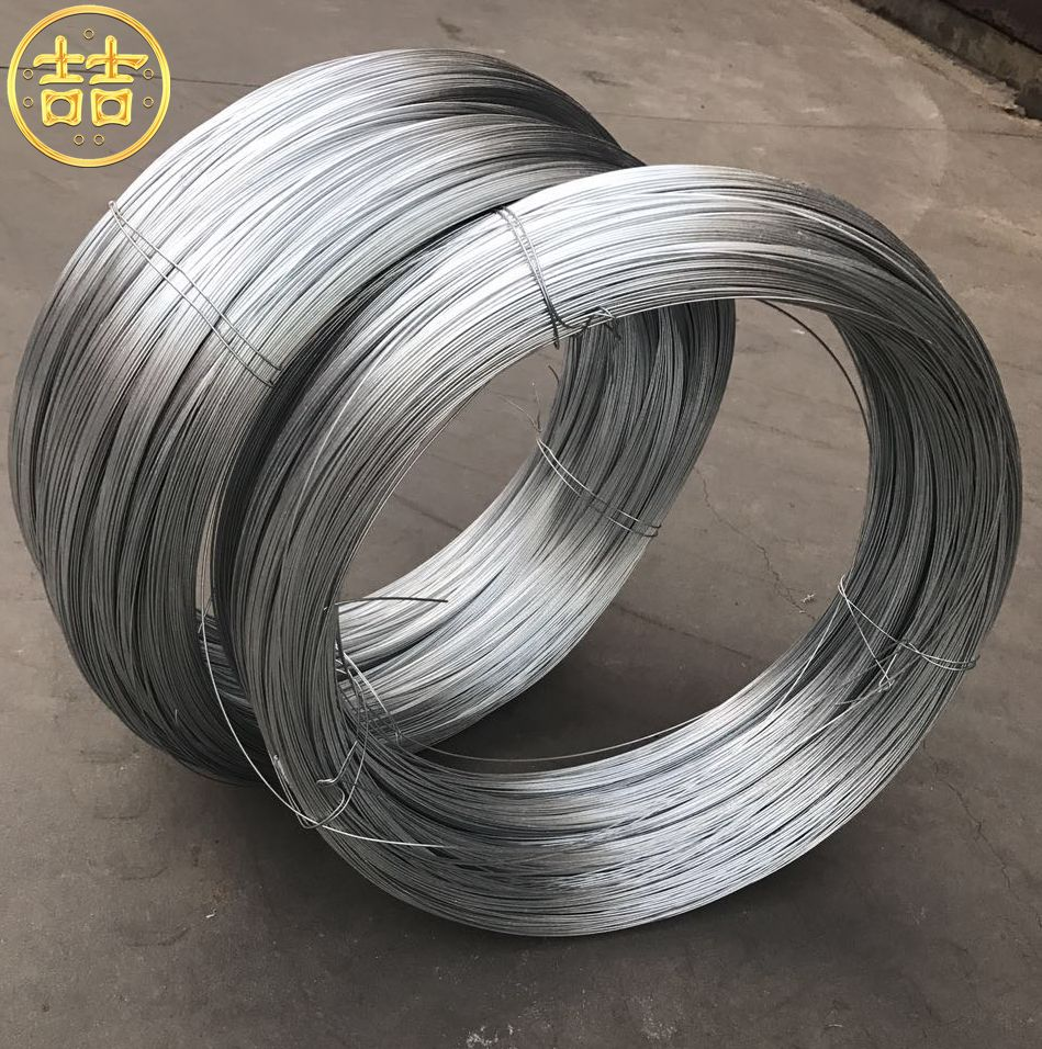 Factory Electric/hot Dip Galvanized Low Carbon Steel Iron Gi Wire ...