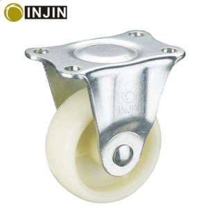 "fixed plastic chair nylon 2.5"" furniture caster wheels"