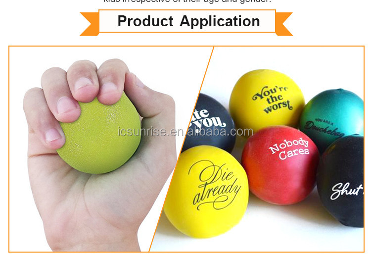Colorful Stress ball For Relief