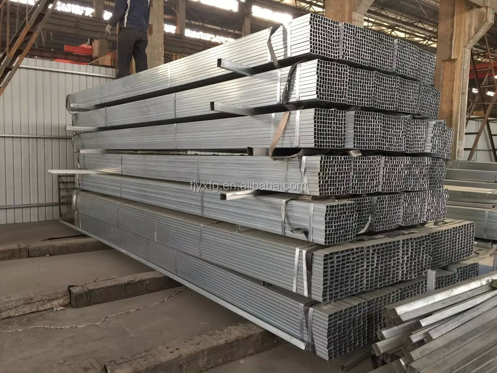 Galvanized Square Tubing 4x4 Galvanized Square Metal Fence