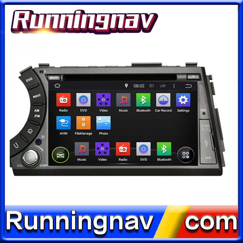 "7"" Android 5.1 For SsangYong Actyon Sports 2005 -2013 2 Din Quad Core / Qcta Core HD Car DVD Player GPS Navigation Radio"
