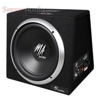 MA AUDIO 10 inch Built in Amplifier subwoofer car audio,Car Subwoofer with Built in Amplifier Best Active Subwoofer,