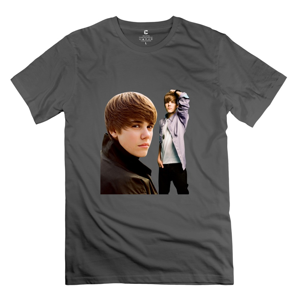 23c573226 Get Quotations · 2015 Custom Made Justin Bieber 100 % Cotton man t-shirt  Discount