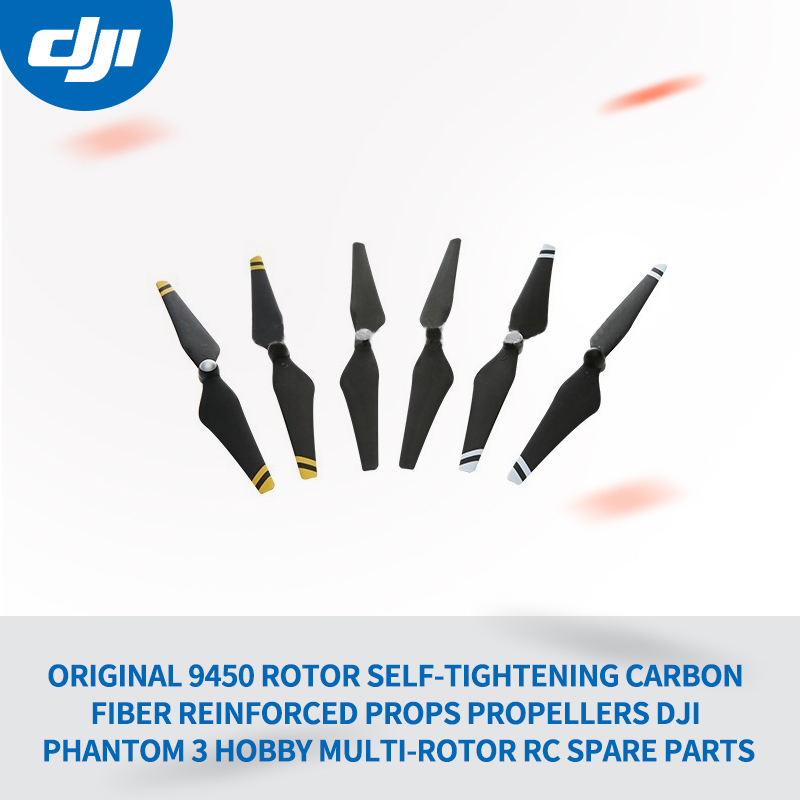 Original 9450 Rotor Self-tightening Carbon Fiber Reinforced Props Propellers DJI Phantom 3 Hobby Multi-Rotor Rc Spare Parts