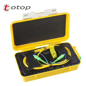 SC-APC OTDR Dead Zone Eliminator, Launch Cable Box 2km SM 1310/1550nm single mode