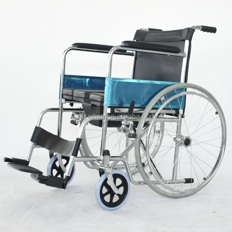 Convenient and easy carrying manual folding wheel chair Medical wheelchair low factory price