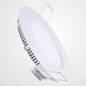 50000h Lifetime Round 80lm/W 6W SMD LED Downlight Recessed