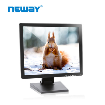 "17""1280X1024 resolution lcd display with V-typle bracket"