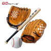 GoActive Youth OR Adult Birch / Oak Rubber Wood / Maple Wood Wooden Baseball Bats Kit Set with Ball And Gloves
