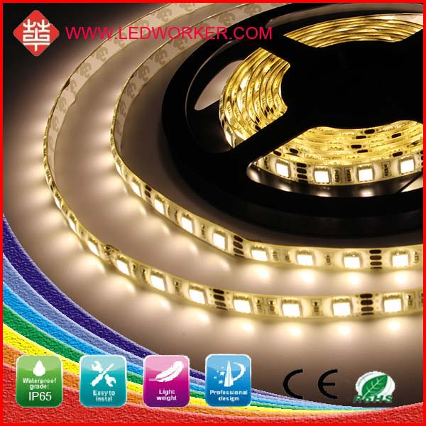 Factory hot selling high lumens 12 volt uv led strip light waterproof