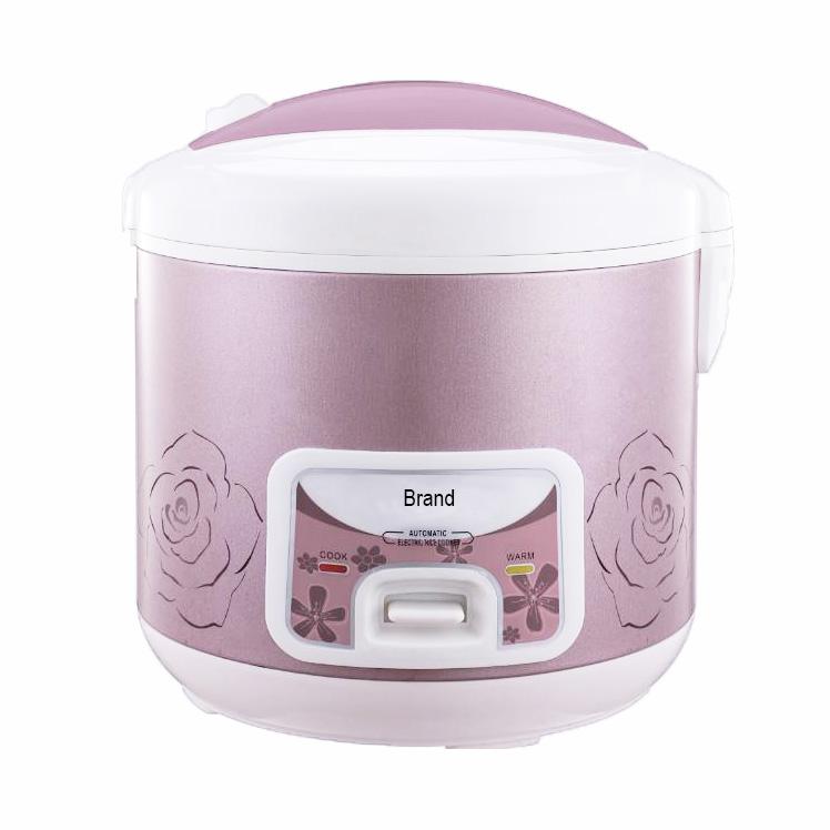 Mutfak aletleri ulusal elektrikli pirinç pişirici Deluxe ile alüminyum pirinç ocak Pot