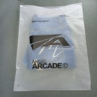 T Shirt Bags Eco Friendly Custom Logo T Shirt Packaging Frosted Zip Lock Plastic Bags For Clothes