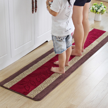Custom Whole Non Slip Cotton Acyrlic Polyester Rubber Latex Backed Kitchen Rugs Rug