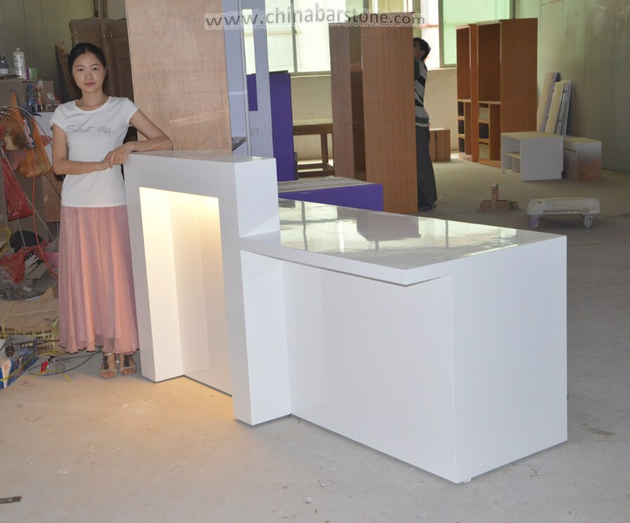 Modern Front Counter Design Modern Front Counter Design Suppliers – Tanning Salon Reception Desk