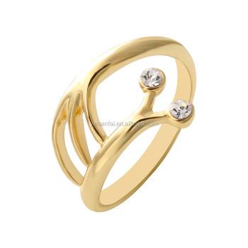 Elegant Animal Snail Shape Gold Ring Design For Women Wholesale
